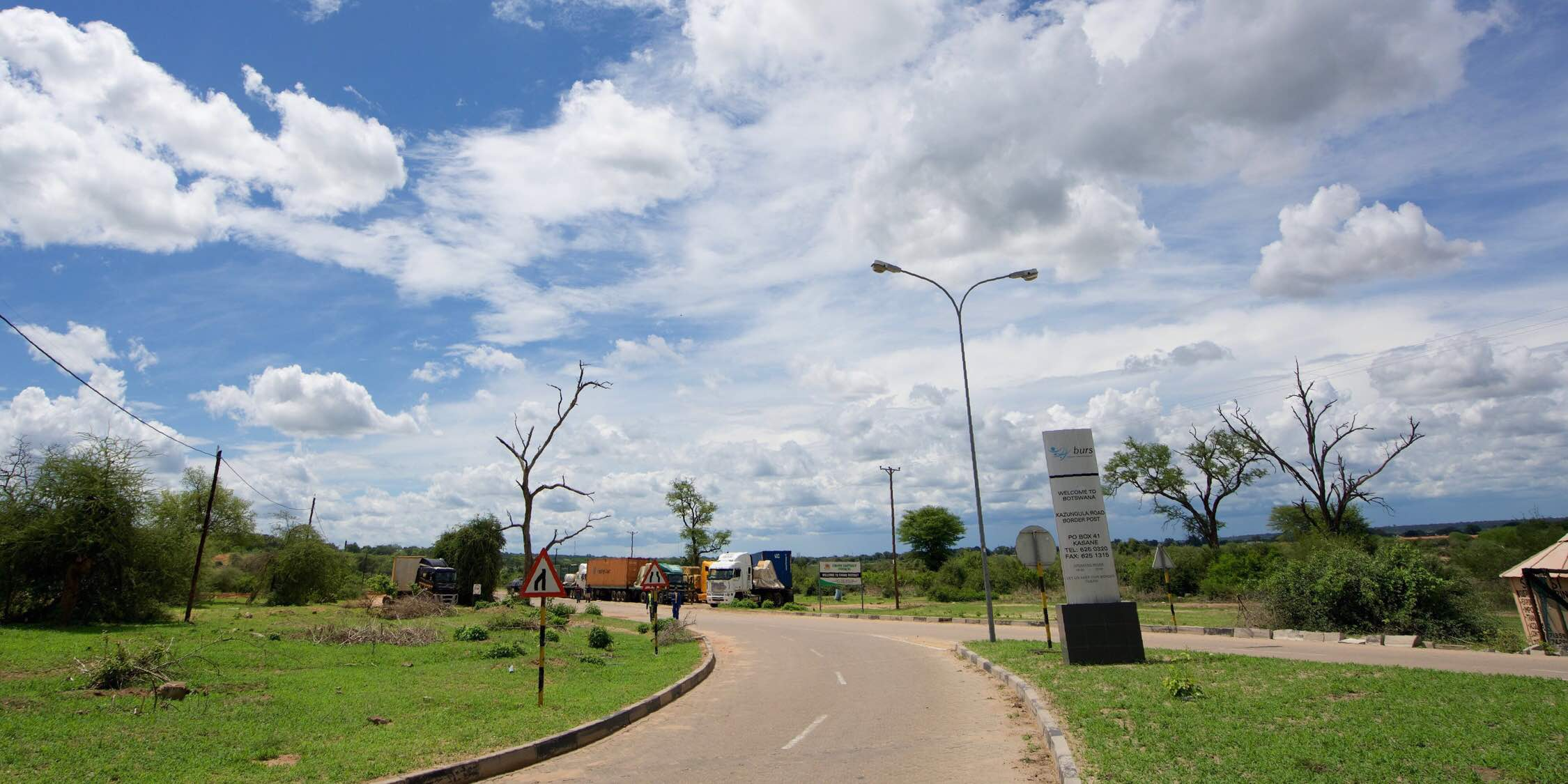 Botswana Border ボツワナ国境