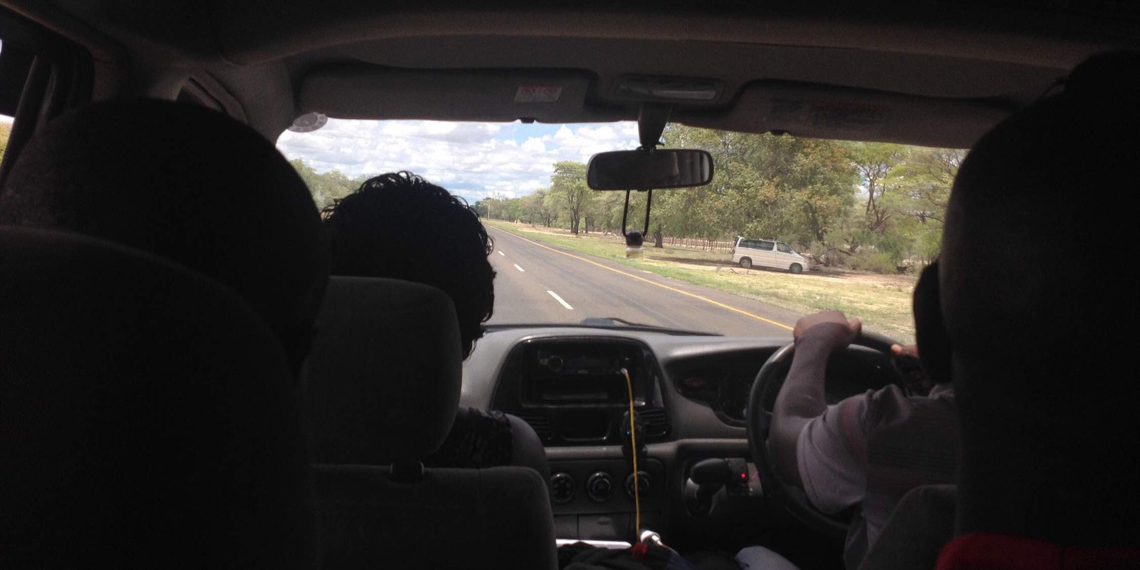 Way to Katima Mulilo カティマムリロへの道中