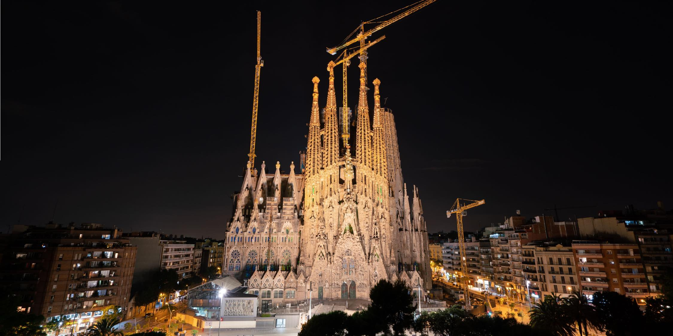 La Sagrada Familia サグラダファミリア 聖家堂