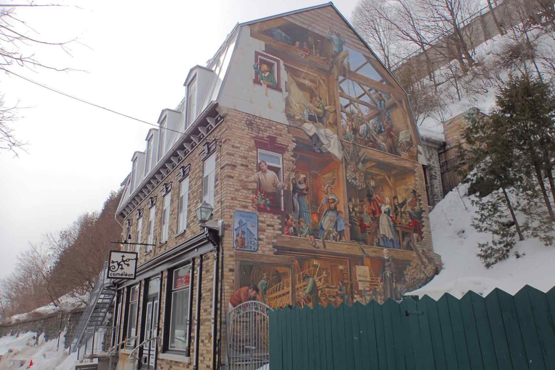 Neptune Inn Mural