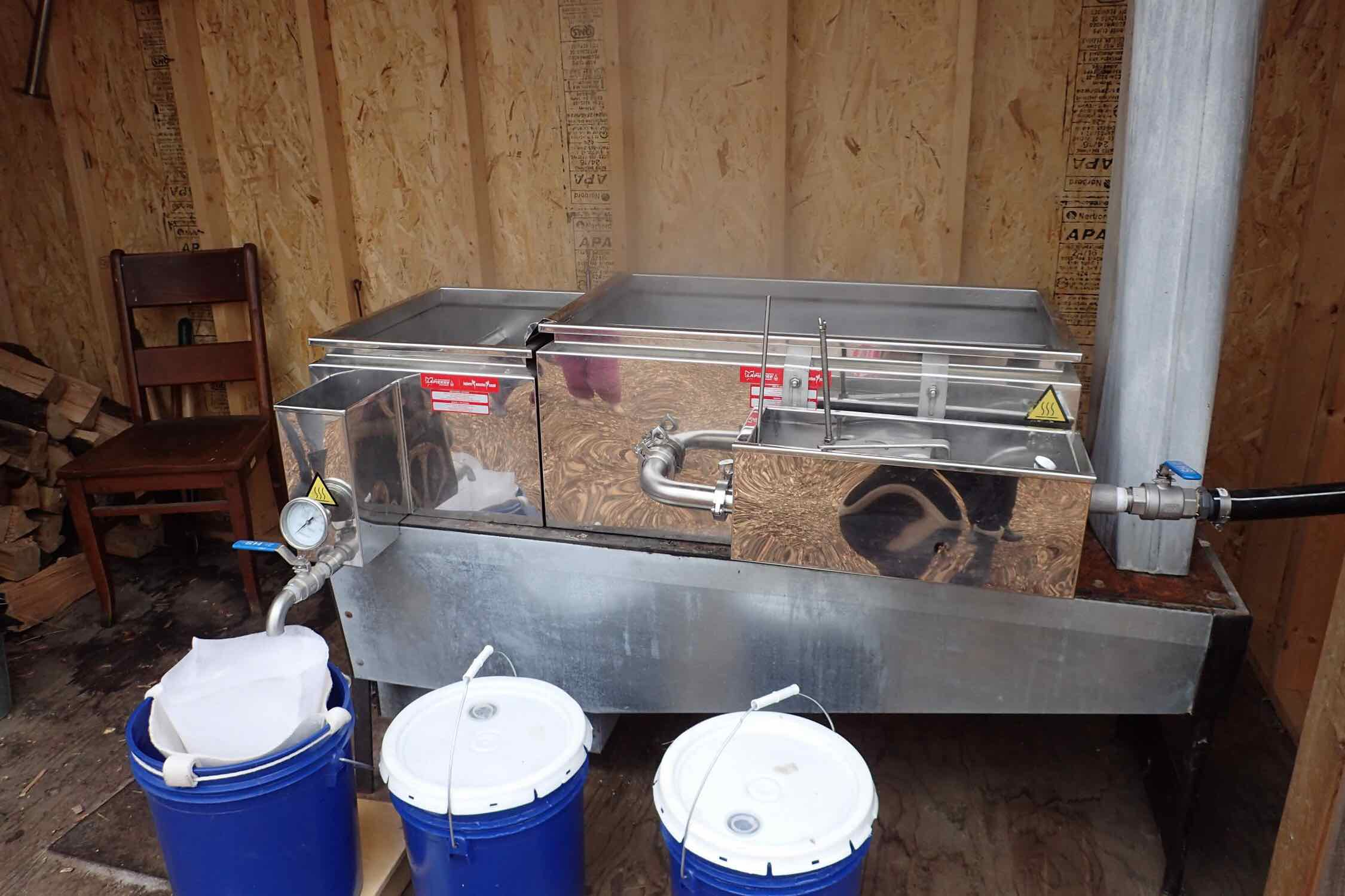 Maple syrup evaporator (current)